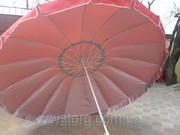 Зонт с металлическим каркасом