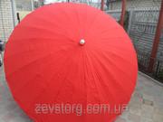 Плотный зонт с прочной тканью