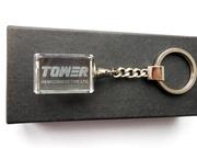 Брелок для ключей с лазерной 3D гравировкой