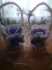 продам корзинки для свадебной церемонии