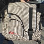 Продам бу большую дорожную сумку - рюкзак 41х40х22 см  сумка