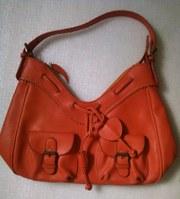 Оранжевая оригинальная стильная женская сумка,  продам Киев
